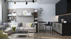 Kleine Wohnung Einrichten U2013 6 Clevere Wohnideen Für 30 Qm Wohnfläche  #clevere #einrichten #