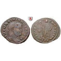 Römische Kaiserzeit, Maximianus Herculius, Follis ca. 298 n.Chr., ss: Maximianus Herculius 286-310. AE-Follis ca. 298 n.Chr.… #coins