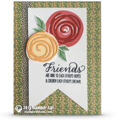 VIDEO: Cool Swirly Scribbles Flowers Card | Stampin Up Demonstrator - Tami White - Stamp With Tami Crafting and Card-Making Stampin Up blog