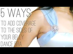 How to add more coverage to your belly dance bra – Part 2 - Belly Dance at Any Size