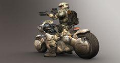 UNSC combat bike