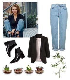 """""""Inspired by Dayna Frazer - 01"""" by pedazodearroz ❤ liked on Polyvore featuring Topshop and Pier 1 Imports"""