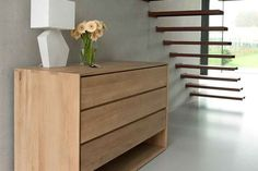 ethnicraft nordic-oak-chest-of-drawers