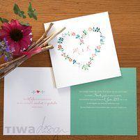 Super sweet and romantic wedding invitation. Wedding Bells, Layouts, Wedding Invitations, Romantic, Vintage, Sweet, Design, Diy Home Crafts, Wedding