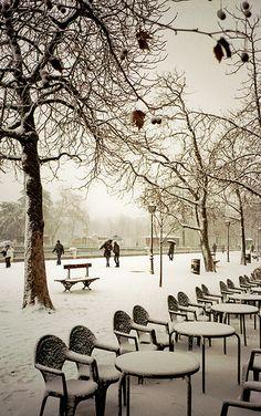 Parque del Retiro, Madrid, Spain ❄