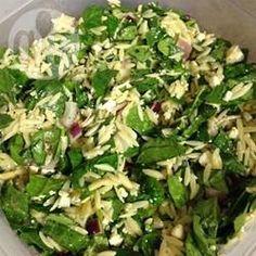 Recipe Picture:Spinach and Risoni Salad