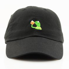 45f2c218f68e Custom Kermit none of my business dad cap color black men size adjustable  strap back one size fits most excellent detailed embroidery quality  products just ...