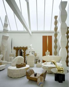 Atelier Brancusi reconstructed by Renzo Piano in 1997