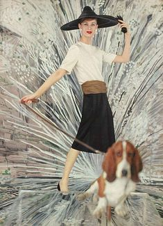 May Vogue 1958. Gorgeous hat !#1950's #fashion #vintage #hat vintag fashion, vogu 1958, fashion vintage, karen radkai, pets, fashion accessories, vogu 1950s, vintage hats, 1950s fashion