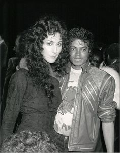 Cher and MJ