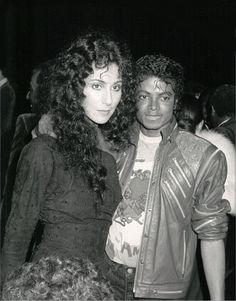 Michael Jackson & Cher