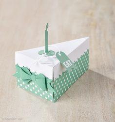 Stampin Up at The Warren Cutie Pie Cake Box Thinlits Die