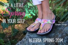 Great New sandals are here! | Alegria Shoe Shop #AlegriaShoes #sandals #Spring2014