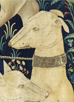 Tapestry no. 1: The hunters gather (detail) by petrus.agricola, via Flickr