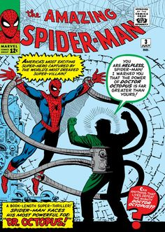 Marvel Firsts ! Amazing Spider-Man #3, from July 1963  Art by Steve Ditko, story by Stan Lee