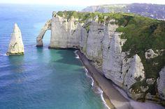 Free stock photo of beach calm cliffs