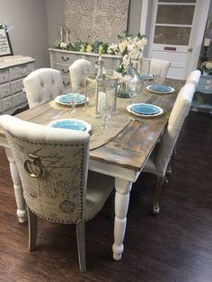 Farmhouse Table - Urbanlux Home  - 1