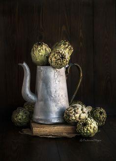 Cómo pelar y cocinar alcachofas frescas | La Cucharina Mágica