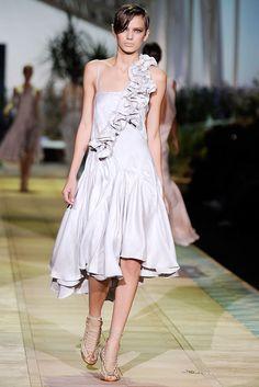 Roberto Cavalli Spring 2010 Ready-to-Wear Fashion Show - Bregje Heinen