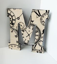 Cupcakes and Corsets: Diy Monogram Wooden Letter