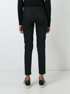 Jil Sander Navy side zip trousers
