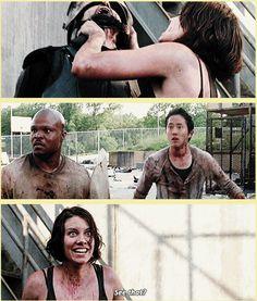 The Walking Dead, Season 3 ..see that?! http://pinterest.com/yankeelisa/the-walking-dead/