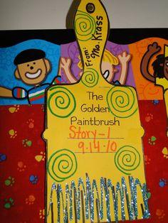golden paintbrush reward