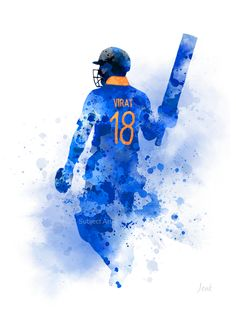 Sports Discover Virat Kohli ART PRINT Cricket India Sport Gift Wall Art Home Decor Virat Kohli ART PRINT Cricket India Sport Gift Wall Art Home Decor captain batsman watercolour gift ideas birthday christmas India Cricket Team, Cricket Sport, Live Cricket, Pawan Kalyan Wallpapers, Cricket Poster, Ms Dhoni Wallpapers, Virat Kohli Wallpapers, Cricket Wallpapers, Ab De Villiers
