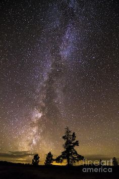 Milky Way Over Bighorn Mountains, Wyoming; photo by Mike Cavaroc