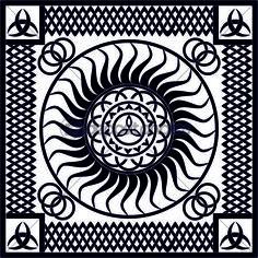 Lizenzfrei downloaden...   #vector #seamless #texture #medieval #keltic #classic #ethnic #Vektorgrafik © #Peter-andre' #Sobota #24149947