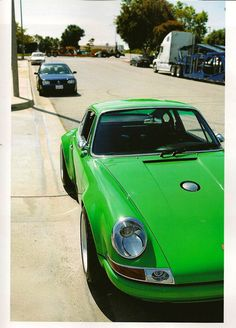 My older brother had a green Porsche and we'd take the top off while on the Coast Highway in Dana Point, CA.
