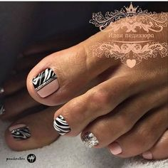 17 New Ideas Pedicure Nail Art Designs Toenails Gel Toe Nails, Simple Toe Nails, Pretty Toe Nails, Gel Toes, Feet Nails, Toe Nail Art, Diy Nails, Acrylic Nails, Nail Art Designs