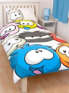 Club Penguin Bedding Quilt Cover Duvet Set