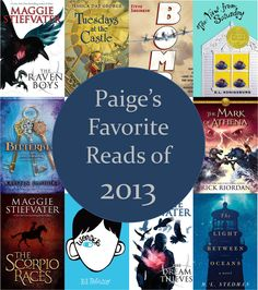 Paige's Favorite Reads of 2013