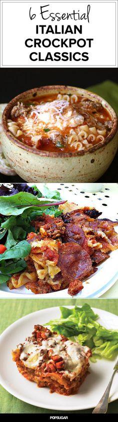 Mangia, Mangia! 9 Italian Crockpot Classics