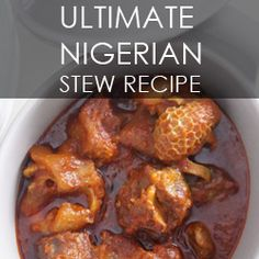 This is my go to recipe for Nigerian Buka Stew (Obe Ata). I promise this recipe will take you back to the first time you tasted this stew. Oven Grilled Chicken, Nigerian Stew, New Recipes, Cooking Recipes, Recipies, Nigeria Food, Oxtail Recipes, West African Food, Man Food