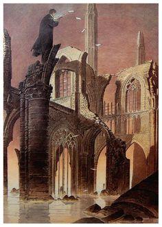 NEOSAPIENS / Francois Schuiten: La Arquitectura de una Gran Imaginación – Zothique The last continent