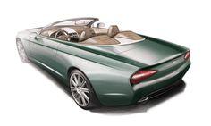 Aston Martin DB9 Spyder Zagato Centennial, 2013 - Design Sketch