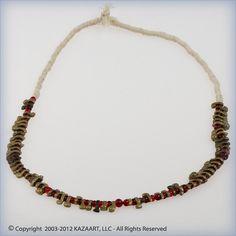 Fulani African Brass Pendant and Trade Beads Mali | eBay