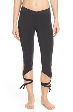 Cute look Free People 'Turnout' Tie Up Leggings available at #Nordstrom