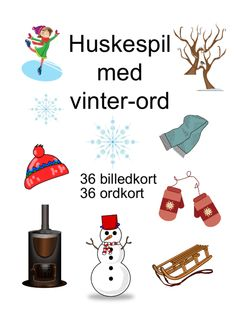 Huskespil med forårs-ord - Bubbleminds Gingerbread Man Crafts, Snowman Crafts, Sugar Free Sweets, Science Topics, Winter Crafts For Kids, Toddler Learning, Raising Kids, Tree Of Life, In Kindergarten