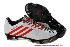 best service fb7ee 660b8 Chaussure de foot England adidas Predator Absolion LZ TRX FG Blanc Noir  Rouge FT3401 Sortie