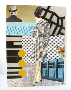 The Architects. Original collage. $60.00, via Etsy.