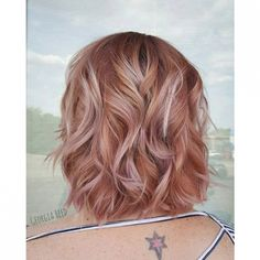 This week's Hairstyle of the Week goes to @lilmisspeach86 for this dusty rose-gold haircolor! For your chance to be our next featured winner, follow us on Instagram and tag your work with #lpweeklydo!
