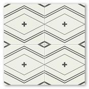 A bit different than other patterns we're looking at, but maybe cool for the kitchen backsplash?