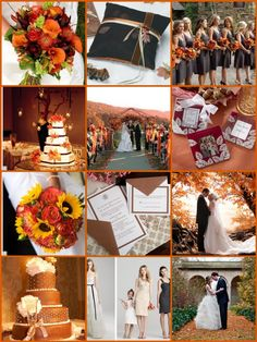 Southern Fall Weddings