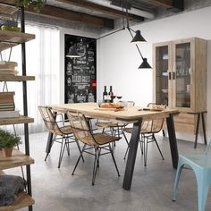 Today we bring you the best Dining Room Lighting Ideas to inspire you with different dining room lamps from contemporary lighting to modern lighting. Simple Dining Table, Dining Table Chairs, Dining Rooms, Interior Design, Dining Room Lighting, Best Dining, House Doctor, Kitchen Decor, Kitchens
