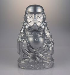 Star Wars  Zen Trooper  Chrome by muckychris on Etsy