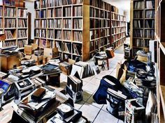 Vinyl Library. #records #vinyl #recordcollection http://www.pinterest.com/TheHitman14/for-the-record/