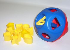 Tupperware Shape-O Toy ... A well-remembered shape-sorter for any child of the 70s, 80s or even today. The best and only change to this toy since your childhood is that it's now easily available online and in stores. No need to sit through a Tupperware party ever again.